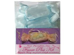 54 of 12 Piece Party Favor Kit In Light Blue