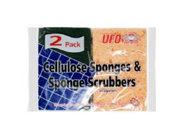 144 of Two Pack Cellulose Sponges And Scrubbers