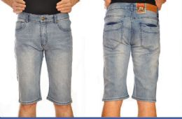 12 of Mega Club Fashion Denim Shorts Solid Color In Assorted Sizes