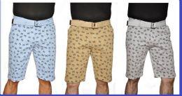 24 of Men's Fashion Printed Chino Short