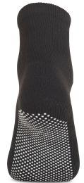 120 of Yacht & Smith Womens Loose Fit Gripper Bottom Diabetic NoN-Skid Slipper Black Socks, Grippy Hospital Sock, Size 9-11