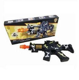 12 of Camo Machine Gun Sound Light Toy Gun