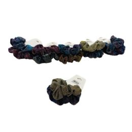 120 of 2 Piece Holographic Glitter Scrunchie