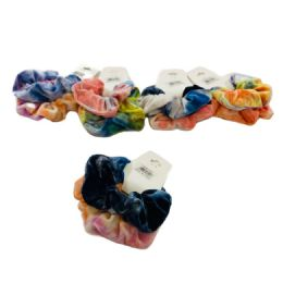 120 of 2 Piece Tie Dye Scrunchie