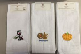 36 of Embroidery Kitchen Towel Set Of 3 Assorted