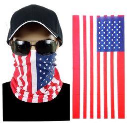 20 of Usa Flag Multi Function Seamless Tube Bandana