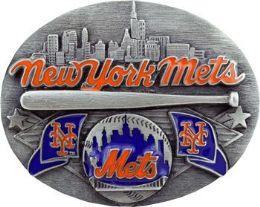 6 of New York Mets Belt Buckle