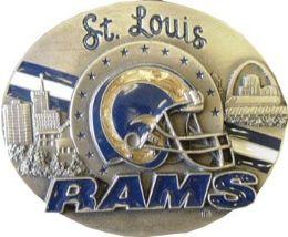 6 of Saint Louis Rams Belt Buckle