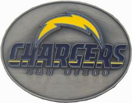 6 of San Diego Chargers Belt Buckle