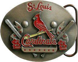 6 of Saint Louis Cardinals Belt Buckle