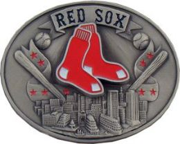 6 of Boston Red Sox Belt Buckle