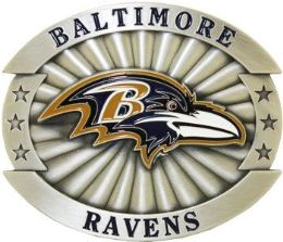 6 of Baltimore Ravens Belt Buckle