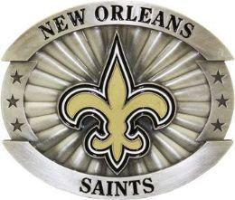 6 of New Orleans Saints Belt Buckle