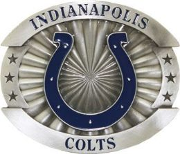 6 of Indianapolis Colts Belt Buckle