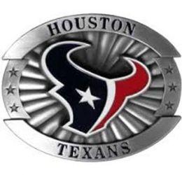 6 of Houston Texans Belt Buckle