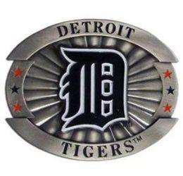 6 of Detroit Tigers Belt Buckle