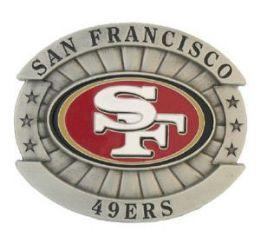 6 of San Francisco 49ers Belt Buckle