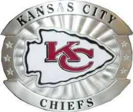 6 of Kansas City Chiefs Belt Buckle