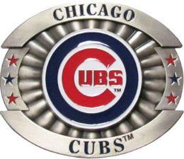 6 of Chicago Cubs Belt Buckle