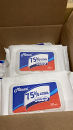 64 of Hand Wipes 50 Ct Pack
