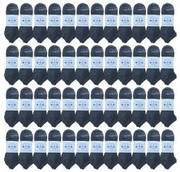 48 of Yacht & Smith Low Cut Socks 97% Cotton Comfortable Lightweight Breathable No Show Sports Ankle Socks, Solid Gray