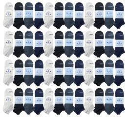 48 of Yacht & Smith Low Cut Socks Thin Comfortable Lightweight Breathable No Show Sports Ankle Socks, Solid Assorted Colors