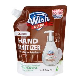 10 of Wish Advanced Hand Sanitizer 1 Liter Refill