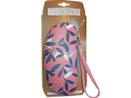 36 of Ellen Tracy Sunglasses Case In Coral And Leaves Design