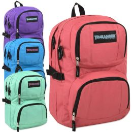 24 of Trailmaker Double Compartment Backpack with Padding Girl Colors