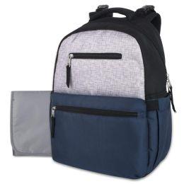 12 of Baby Essentials Diaper Backpack - Navy