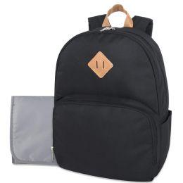 12 of Baby Essentials Diaper Backpack Black
