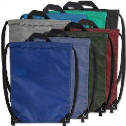 48 of Kids 15 Inch Drawstring Bag 8 Colors