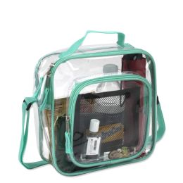 24 of Clear Toiletry Bag In Green