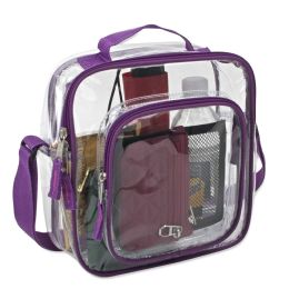 24 of Clear Toiletry Bag In Pink