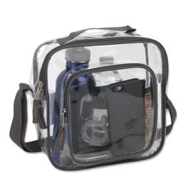24 of Clear Toiletry Bag In Grey
