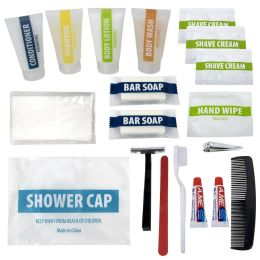 48 of Deluxe 20 Piece Hygiene Kit