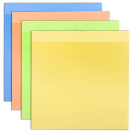 192 of Sticky Notes Assorted Colors 100 Sheets