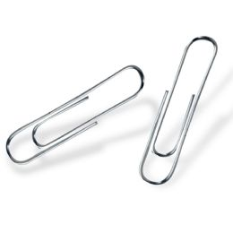 96 of 100 Pack Of Large Paper Clips - 2 Inch