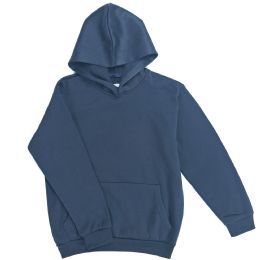 12 of Boys Long Sleeve Sherpa Lined Hoody Sweater In Navy Color