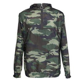 12 of Mens Camouflage Waterproof Pullover Jacket