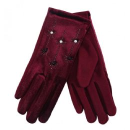 36 of Ladies Gloves With Pearls And Flower
