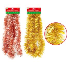 144 of Christmas Garland Assorted Color