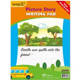 96 of 30 Count Picture Story Pad