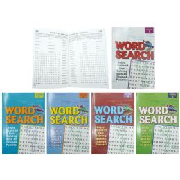 10 of Word Search Puzzles Book Assorted