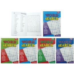 50 of Word Search Puzzles Book Assorted