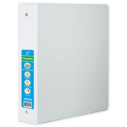 24 of Hard Cover Binder In White