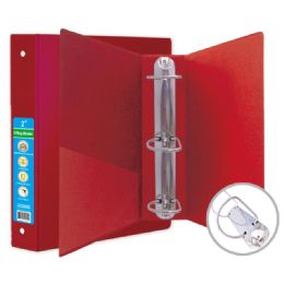 24 of Hard Cover Binder In Red