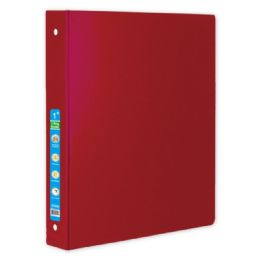 48 of Hard Cover Binder In Red