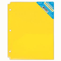 120 of Two Pockets Poly Portfolio Translucent Yellow