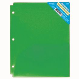 120 of Two Pockets Poly Portfolio Translucent Green